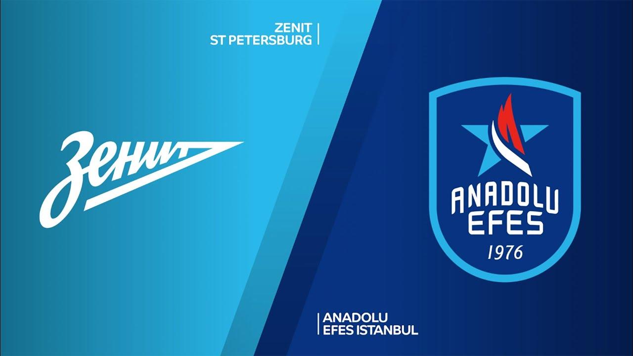 EuroLeague 8. Hafta: Anadolu Efes - Zenit