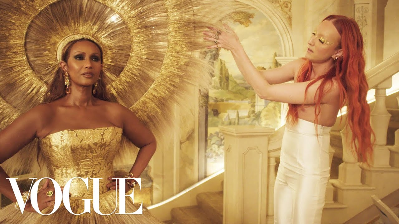 Download The Making of Iman's Met Gala Dress | Sketch to Dress | Vogue