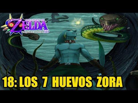 The Legend of Zelda: Majora's Mask 3D #18 - Los 7 huevos Zora - Guía 100% en español