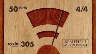 Download 50 BPM 4/4 Wood Metronome HD MP3 song and Music Video