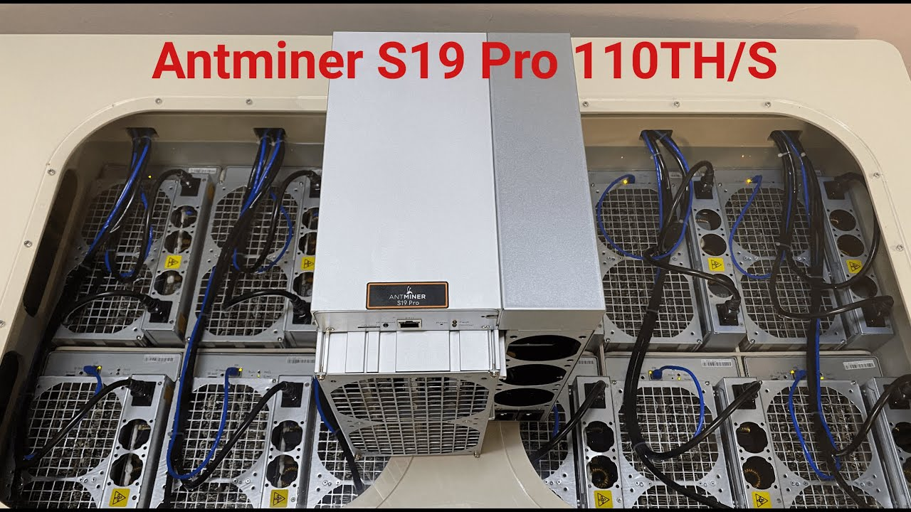 Download Antminer S19 Pro in immersion cooling Bitcoin mining farm. Oil cooled pc