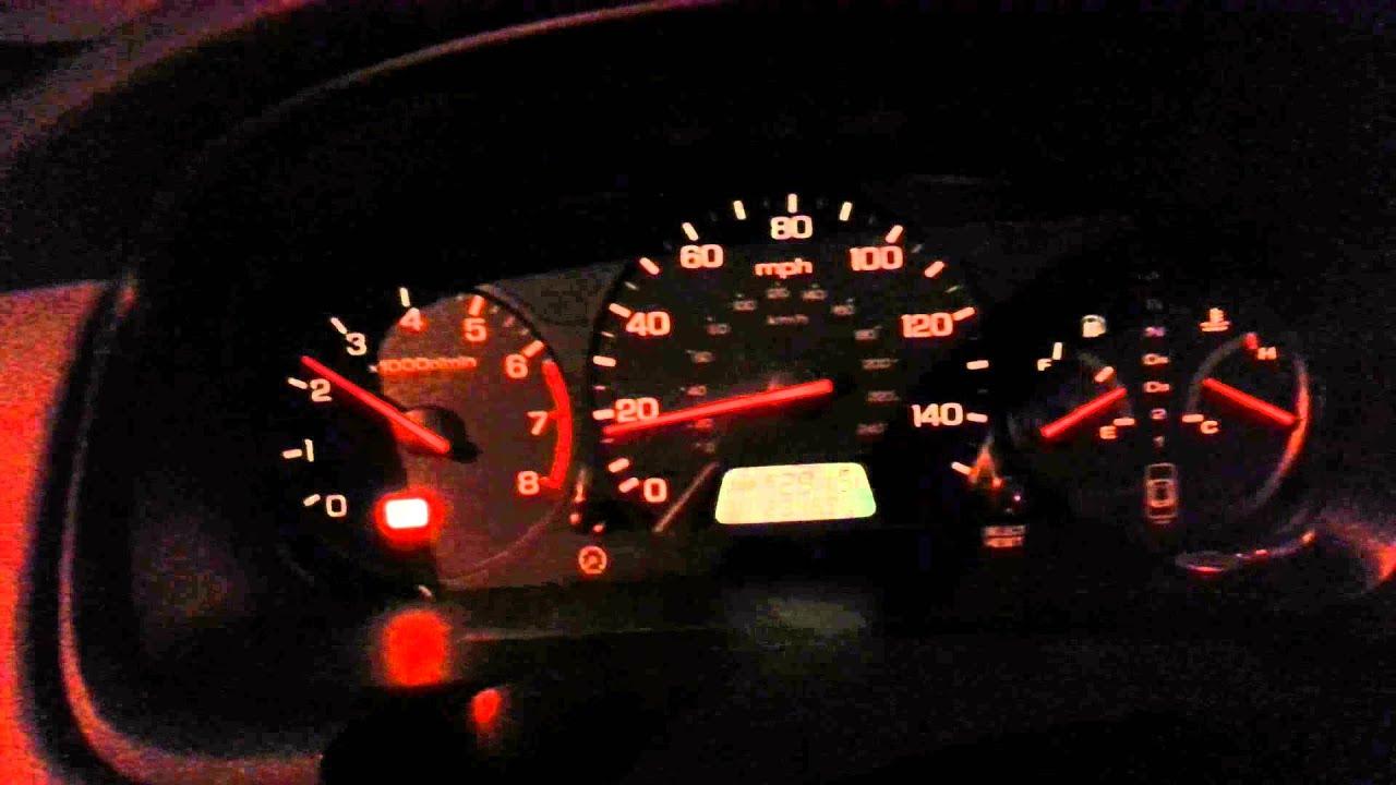 2001 Honda accord ex won't go over 3000 rpm p1381