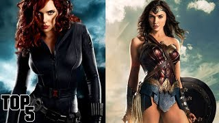 Top 5 Hottest Female Superheroes