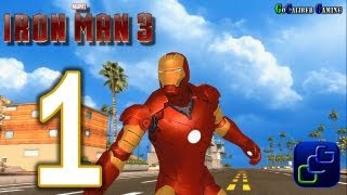IRON MAN 3: The Official Game Android Walkthrough - Gameplay Part 1 -
