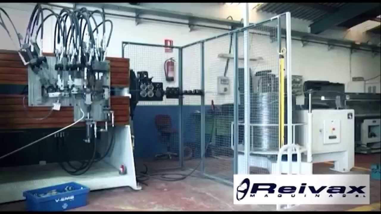 REIVAX MAQUINAS - CONSTRUCTION OF MACHINERY FOR WIRE DEFORMATION ...
