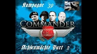 Commander Europe at War Kampagne 39 Achsenmächte Part 2