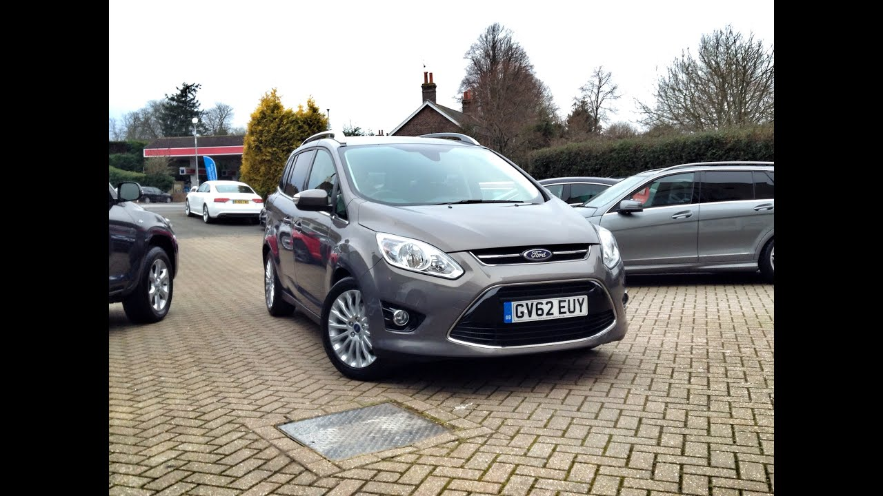 Ford Grand C S  Titanium 5dr Sold At