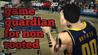 how to use game guardian using parallel space on NBA 2K20 for non rooted (tagalog) wdownload link