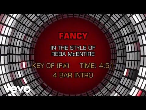 Reba McEntire - Fancy (Karaoke)