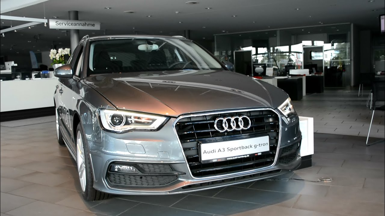 2015 new audi a3 sportback g tron youtube. Black Bedroom Furniture Sets. Home Design Ideas