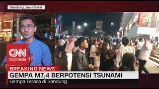 Guncangan Gempa Banten Terasa Hingga Bandung, Tasikmalaya, & Sukabumi