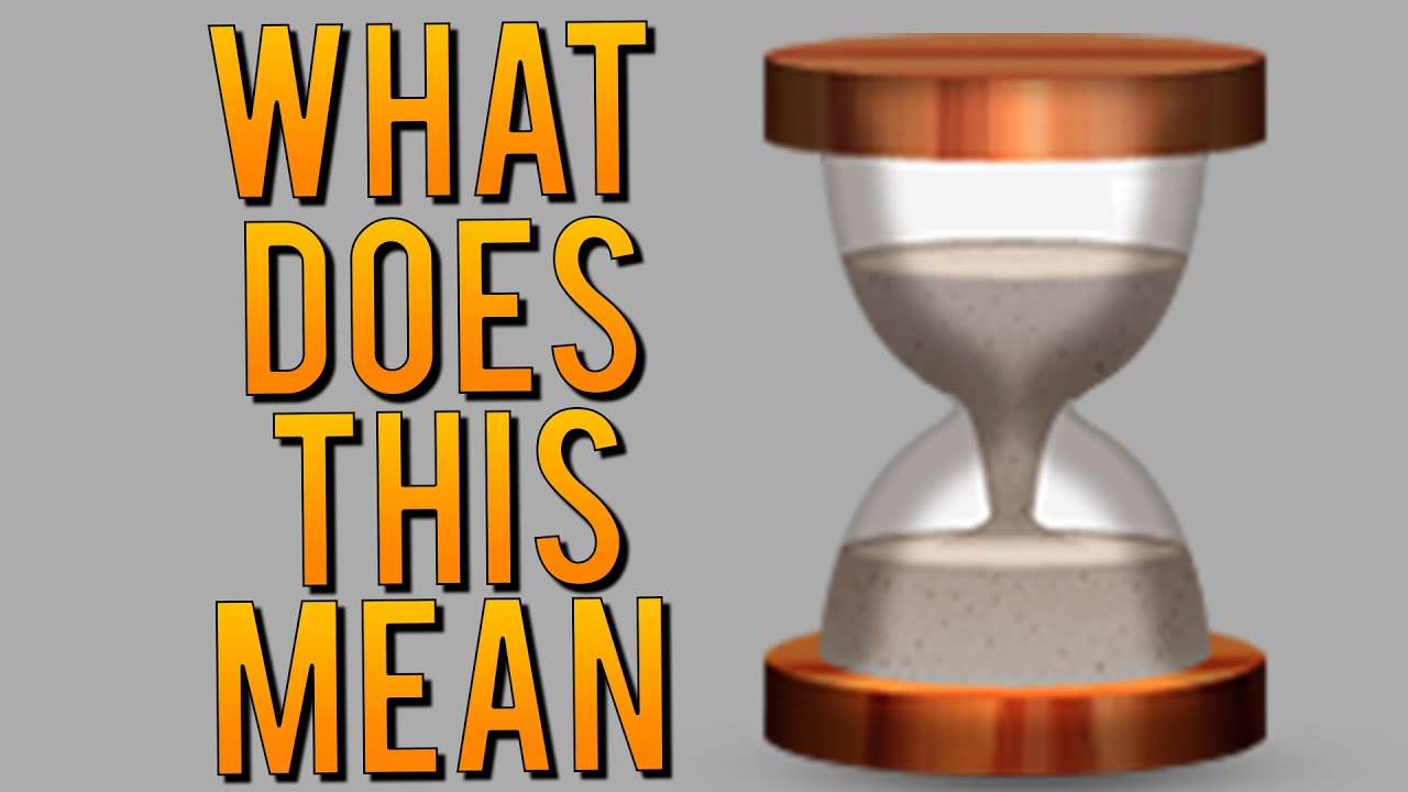 What Is The Snapchat Hourglass Emoji How To Get More Text