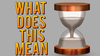 WHAT IS THE SNAPCHAT HOURGLASS EMOJI?! How to Get More Text (Snapchat Quick Tips)