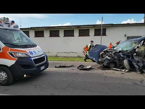 incidente stradale a Badia Polesine. Coinvolto un ...