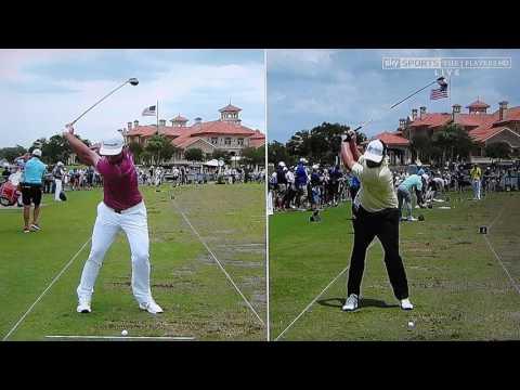 Rich Beem analyses the golf swings of Jon Rahm and JB Holmes (Sky Sports) TPC 2017..