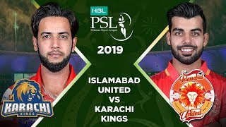 Match 13: Full Match Highlights Islamabad United vs Karachi Kings | HBL PSL 4 | HBL PSL 2019