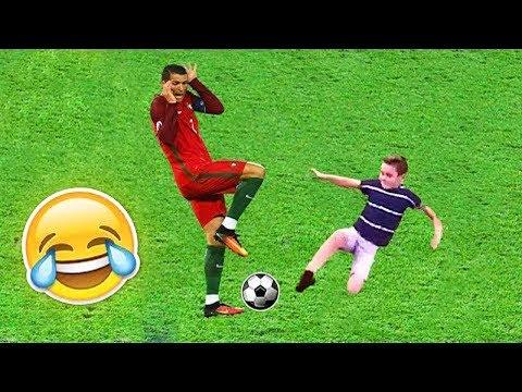 FUNNY KIDS IN FOOTBALL ● FAILS, SKILLS, GOALS #2