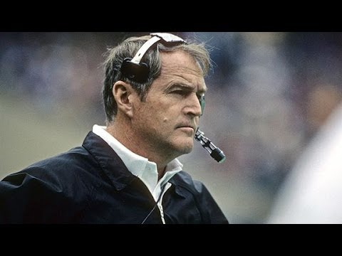 Chuck Noll Passes Head Coach Of Pittsburgh Steelers Won 4 Super Bowls