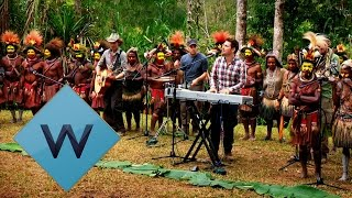 Scouting For Girls & Huli Wigmen: Getting To Know You | Singing In The Rainforest | W