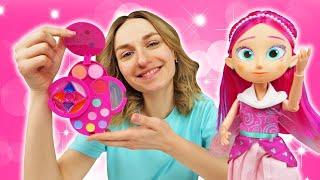 Куклы Феи ФЕЕРИНКИ делают макияж Игры в САЛОН КРАСОТЫ Игровые Наборы и косметика для девочек