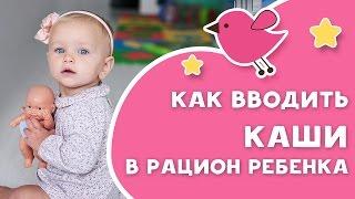 Как вводить каши в рацион ребенка [Любящие мамы]