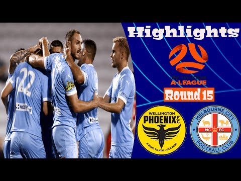 Wellington Phoenix Melbourne City Goals And Highlights