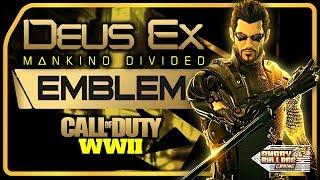 COD-WWll DEUS EX EMBLEM TUTORIAL │DEUS EX MANKIND DEVIDED │1080P