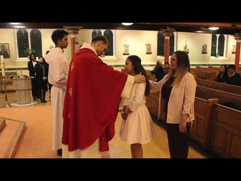 Sacrament of Confirmation, St Cedd's 2018