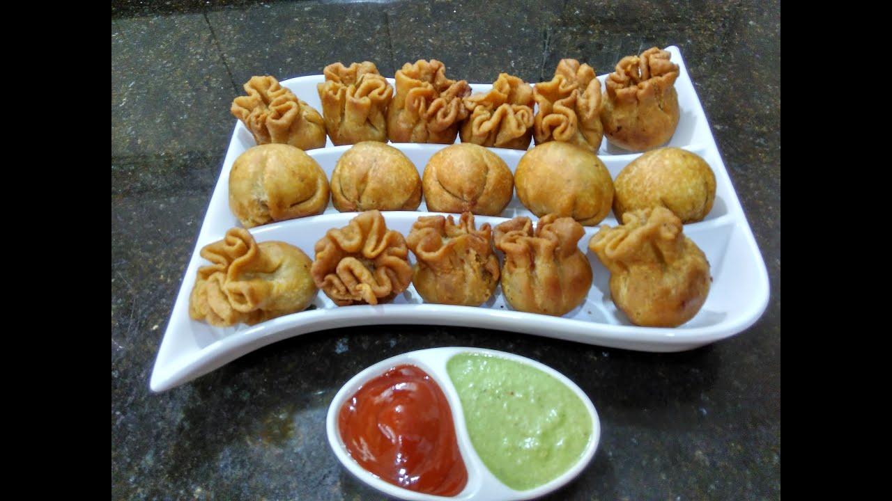 Bread aur Suji ki Potli/Kachori Recipe/Snacks/Evening tea ...