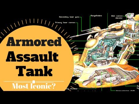CROSS SECTION BREAKDOWN - AAT Armored Assault Tank Lore -Star Wars Canon & Legends Explained