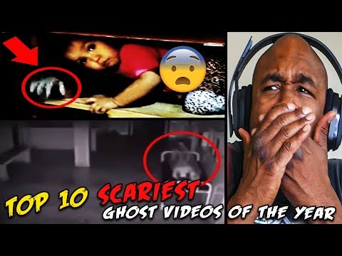 Top 10 SCARIEST Ghost Videos of the YEAR FULL REACTION!!