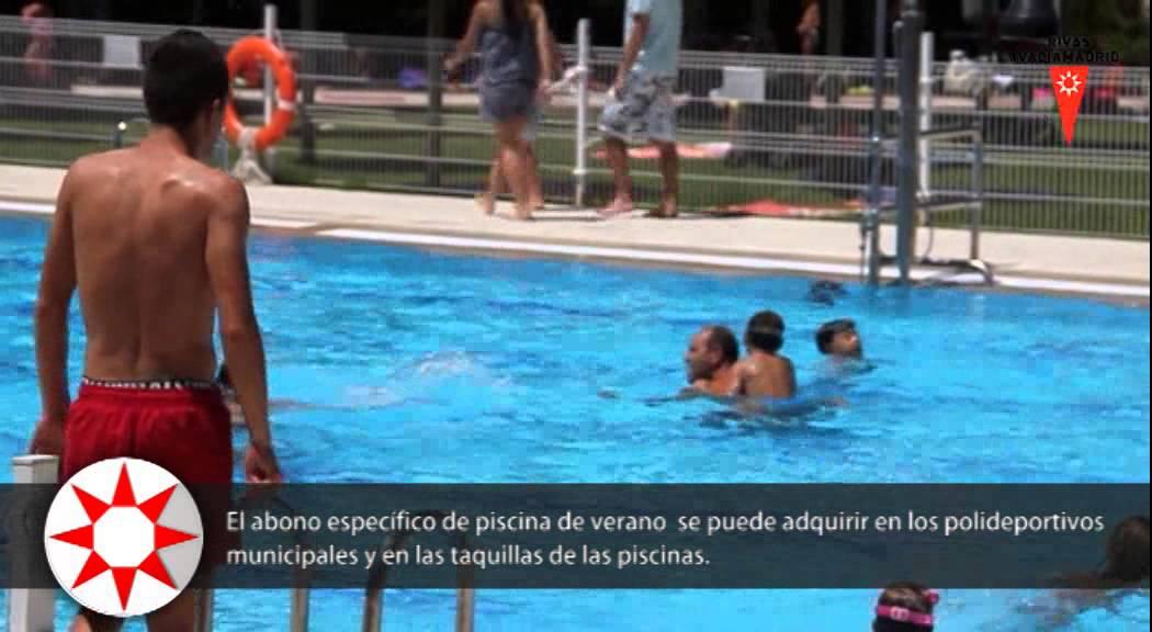 Las piscinas municipales de rivas abren sus puertas youtube - Piscina rivas vaciamadrid ...
