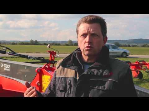 KUHN GF 17012 - Girofaneurs - Interview Damien Vieille