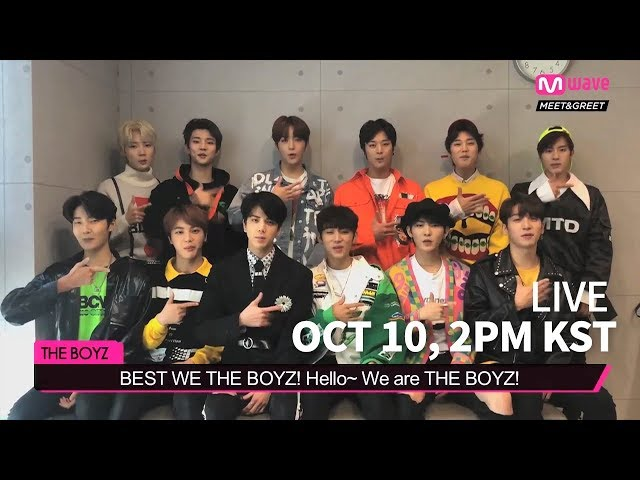 THE BOYZ is visiting MEET&GREET on Oct 10! | Teaser