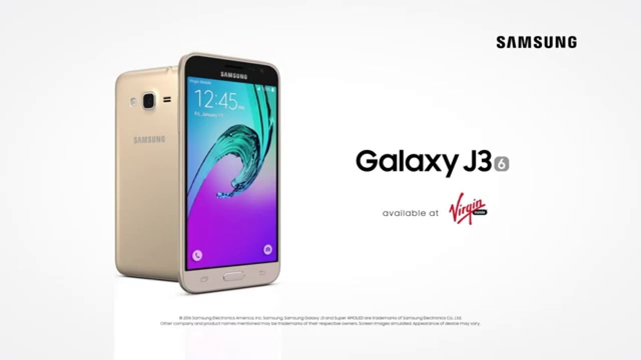 Samsung Galaxy J 3 Samsung Galaxy J3 (2016) - Youtube
