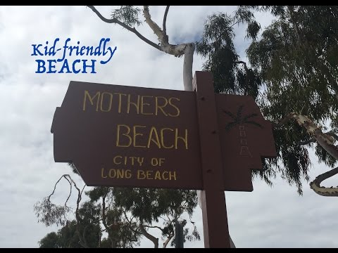 Kid friendly BEACH!!! MOTHER'S BEACH in California!!!! Road trip & family fun with the kiddos!