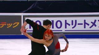 Тиффани Загорски Джонатан Гурейро Произвольный танец Гран при по фигурному катанию 2020 21