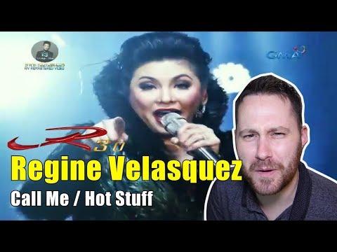 R3.0 Concert - 01- Call Me/Hot Stuff - Regine Velasquez | REACTION