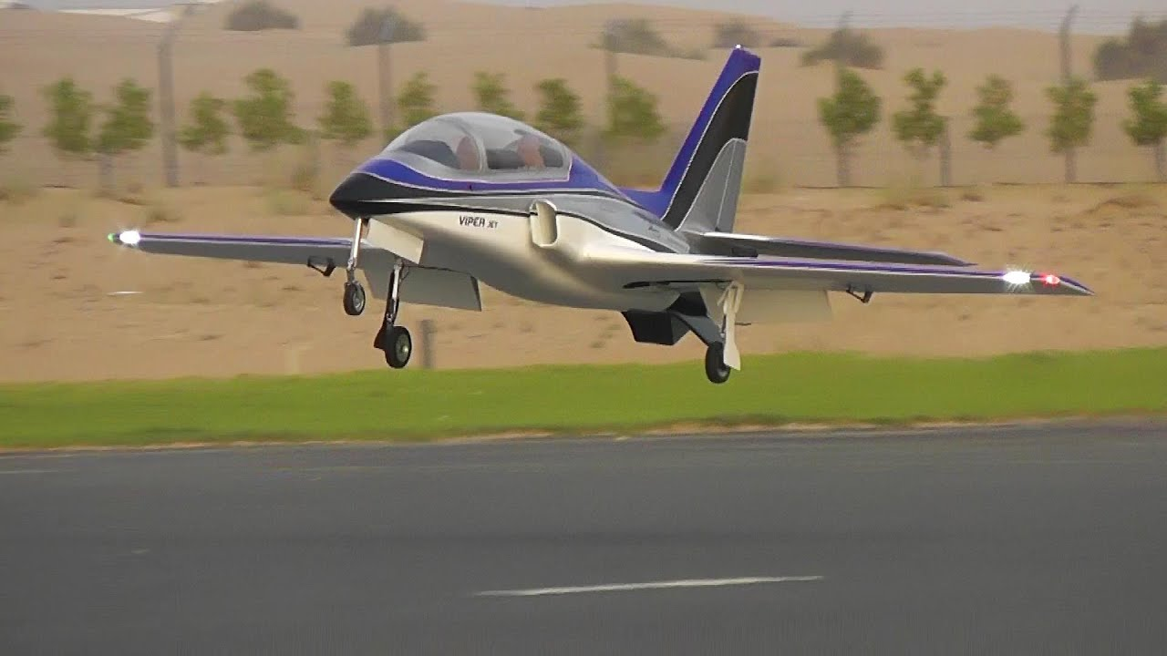 Around 100 meters is good for most models; start a steady turn by holding your aileron stick over to one side; let your aircraft do 2 or 3 full turns; land and look at.