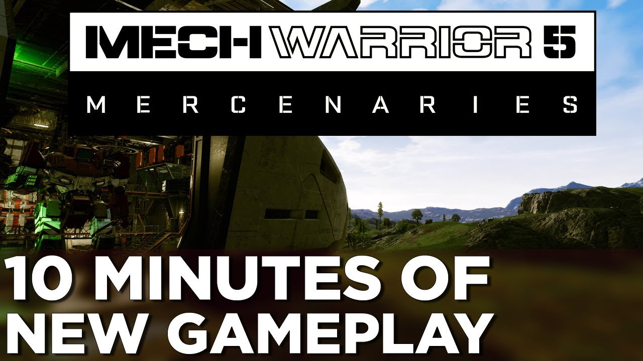 MechWarrior 5: Mercenaries will have four-player co-op and full mod