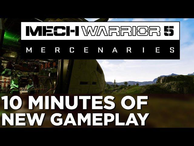 MechWarrior 5: Mercenaries (видео)