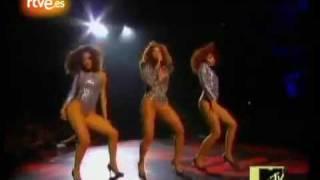 Beyonce and Lady Gaga performance at VMA 2009