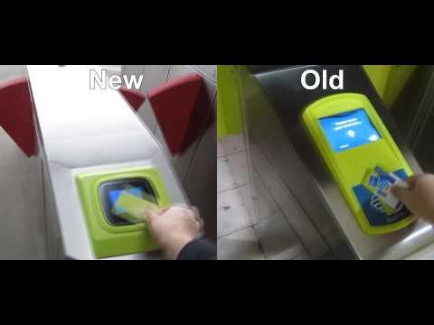 Myki gates: old vs new compared