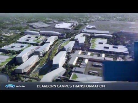 Ford's future campus in Dearborn, MI