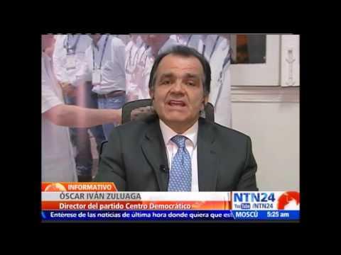 "Óscar Iván Zuluaga asegura que acuerdos de paz con FARC ""violan la Constitución de Colombia"""