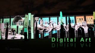Rice University, Houston,  3D Video Mapping Projection - By Wings VIOSO and Epson Projector