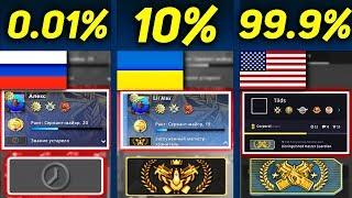 САМЫЕ НОВЫЕ ОТЛИЧИЯ ВЕРСИЙ РОССИЯ И США КСГО!! ... В 2019 ГОДУ!