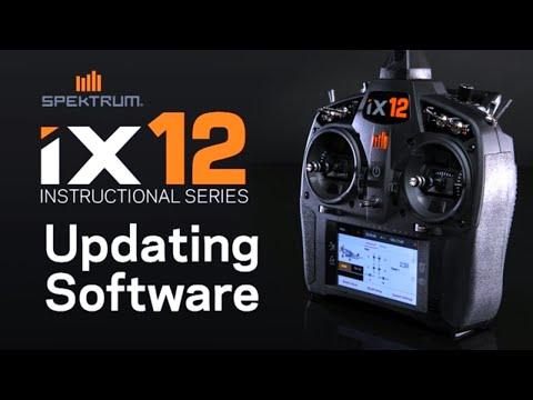 Spektrum iX12 Instructional Series - Updating Software