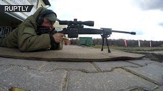 Испытания новейшей снайперской винтовки «Точность» прошли в Подмосковье