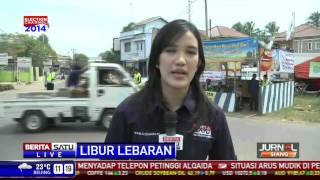 LIVE - Pantauan Arus Mudik Arah Sadang dan Subang